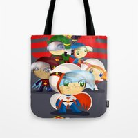 G Force Tote Bag