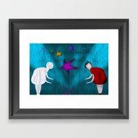 Sombra Framed Art Print