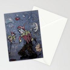 Night Clown Stationery Cards
