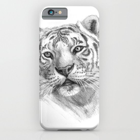 Sentimental Tiger SK118 iPhone & iPod Case