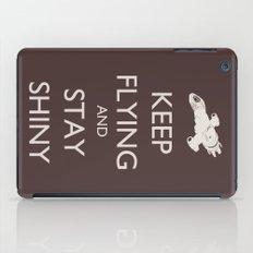 Keep Flying and Stay Shiny iPad Case