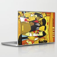 pulp fiction Laptop & iPad Skins featuring Pulp Fiction by Ale Giorgini
