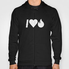 I Love Fire Hoody
