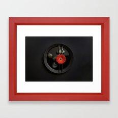 Black Zen 2 Framed Art Print
