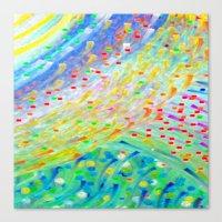 Sparkle Abstract Canvas Print