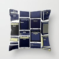Amped Dreams Throw Pillow