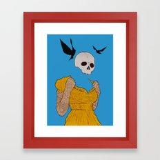 evil dead. Framed Art Print