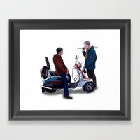 Jimmy Casual Framed Art Print