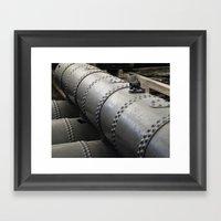 USS Cairo 11 Framed Art Print