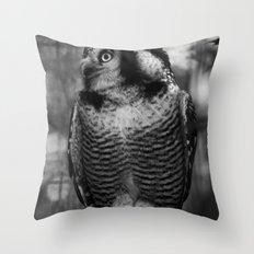 Owl series no.1 Throw Pillow