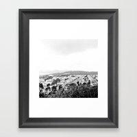 San Francisco Cityscape … Framed Art Print