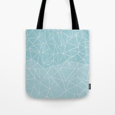 Ab Half and Half Salt Tote Bag