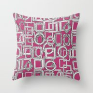 Picture Frames Aplenty F… Throw Pillow