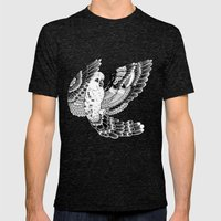 Parrot Mens Fitted Tee Tri-Black SMALL