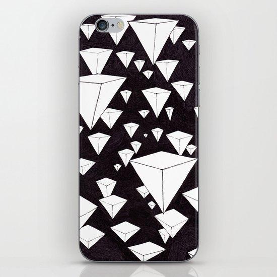 snowing pyramids II iPhone & iPod Skin