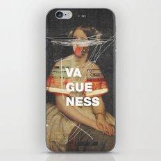 Vagueness iPhone & iPod Skin