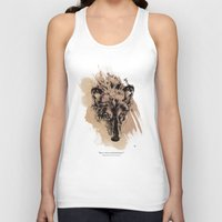 Solitude Is Independence Unisex Tank Top