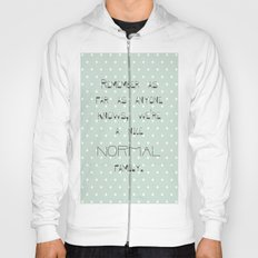 Remember if anyone asks ~ Polka Dots ~ poster ~ typography ~ illistration Hoody