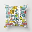 DON'T RUSH ME Throw Pillow