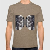 Psychoactive Bear 5 Mens Fitted Tee Tri-Coffee SMALL
