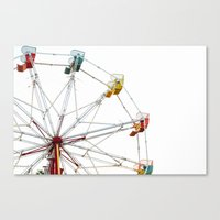 The Thrill Of Summer Canvas Print