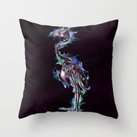 Fade Fader Fadest Throw Pillow