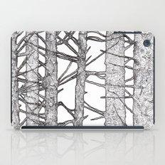 Black & White Trees iPad Case