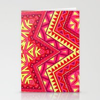 Indian Drugs Pattern 3 Stationery Cards