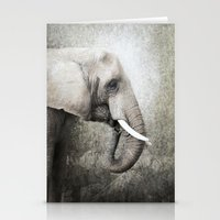 The Old Elephant Stationery Cards