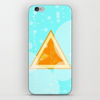 Orange Seltzer iPhone & iPod Skin