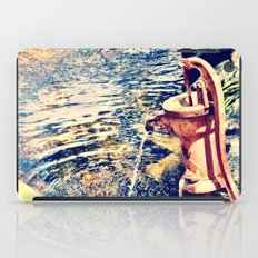 waterfountain iPad Case
