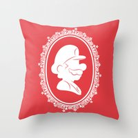 The Plumber Throw Pillow