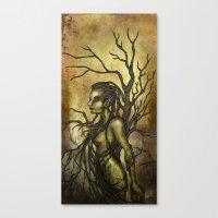 Dark Dryad Canvas Print