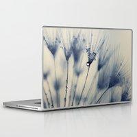 dandelion Laptop & iPad Skins featuring dandelion by Ingrid Beddoes