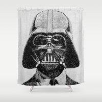 Darth Vader portrait Shower Curtain