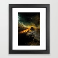 Desolation Road Framed Art Print