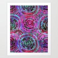 Amelie {Pattern 2B} Art Print