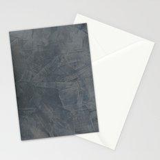 Slate Gray Stucco Stationery Cards