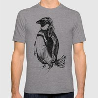 Pinguin Mens Fitted Tee Athletic Grey SMALL