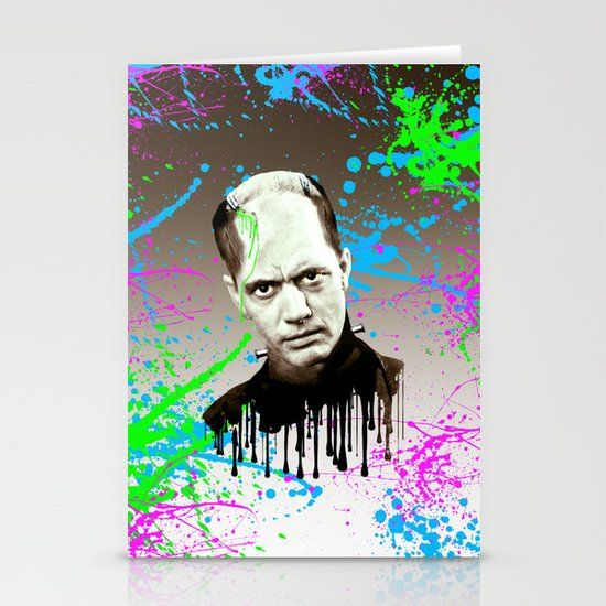Frankenstein's monster, Jason Wing. Stationery Card