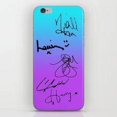 One Direction Signatures iPhone & iPod Skin