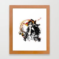 Spanish Girl Framed Art Print