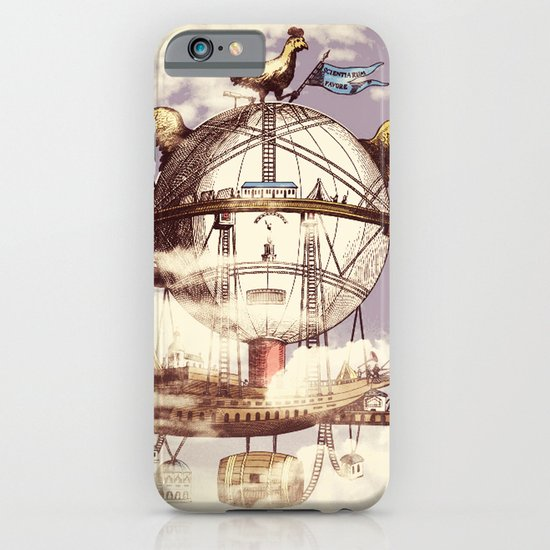 Drifting Through the Clouds iPhone & iPod Case