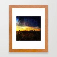 Celestial Extortion  Framed Art Print