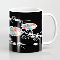 B&W Bloom Mug