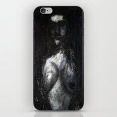 HOT VAMPIRE WITH IMPLANTS iPhone & iPod Skin