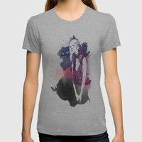 Stevie Nicks Womens Fitted Tee Athletic Grey SMALL