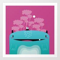 Moshi Art Print