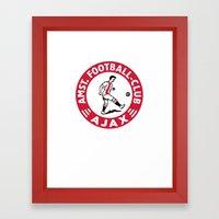 AFCA Ajax Amsterdam Framed Art Print