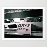 Clipper Cafe Art Print